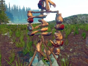 The Forest Totem Bauen
